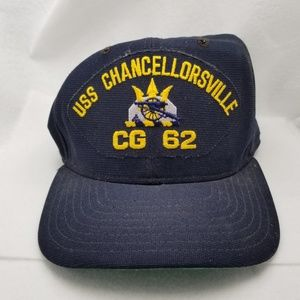 Other - Blue Gold Snapback USS Chancelorville Hat